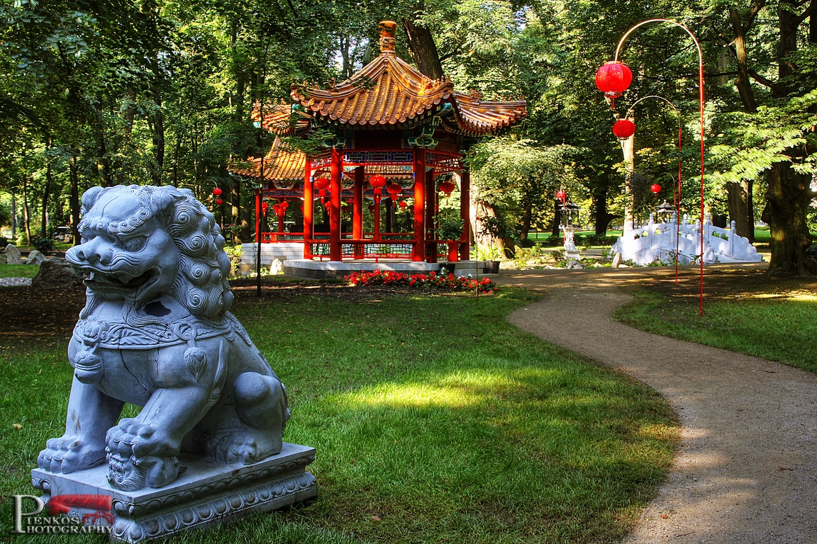 Ogród Chiński W łazienkach Królewskich Natblueeu