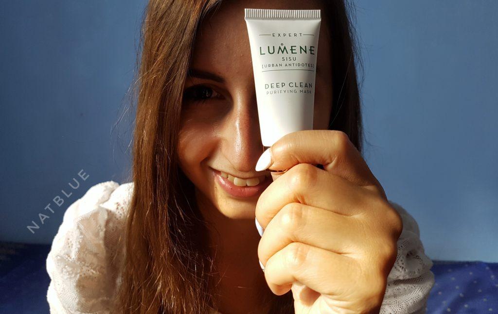 Lumene, Invisible Illumination, oczyszczająca, detoksykująca, maska do twarzy, Deep Clean Purifying Mask, linia SISU