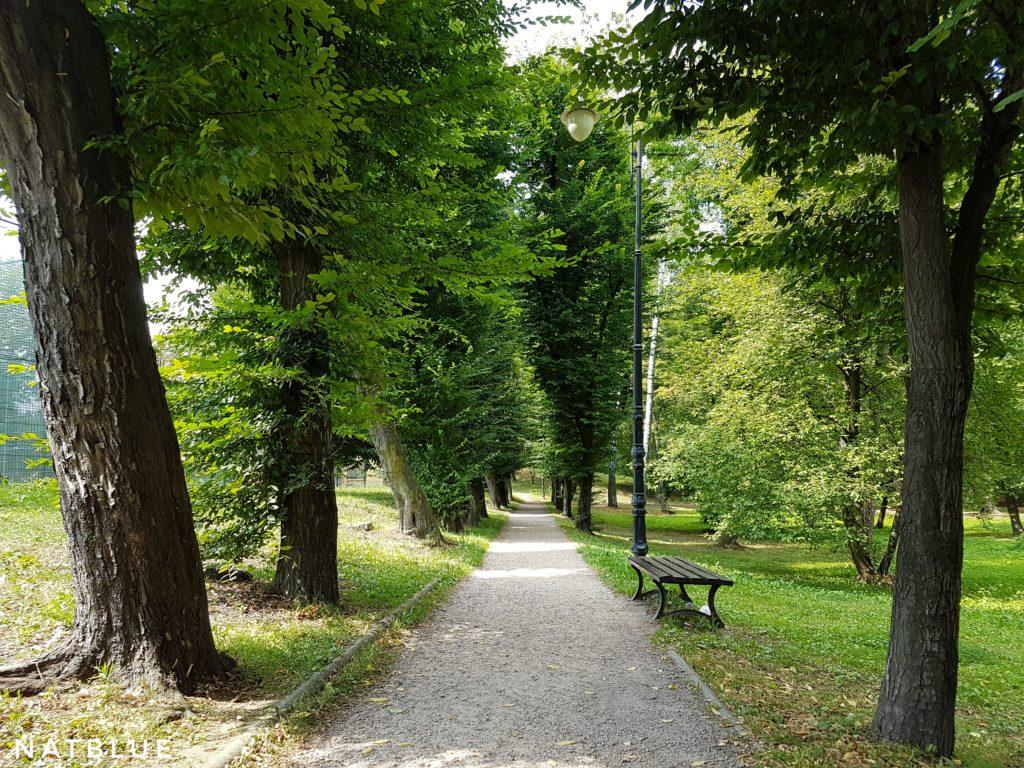 Wieliczka, Park