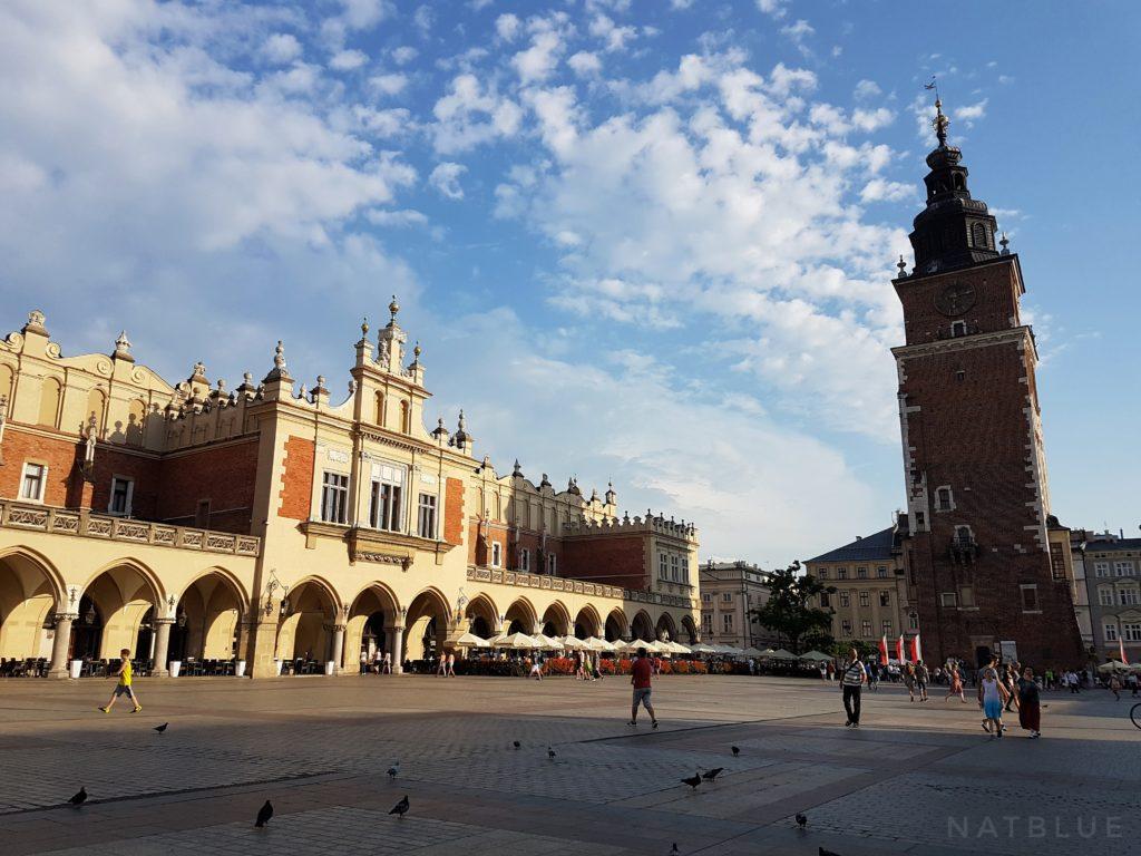 Kraków, Cracow, Polska, Poland, Wieża Ratuszowa, Sukiennice, Rynek Główny