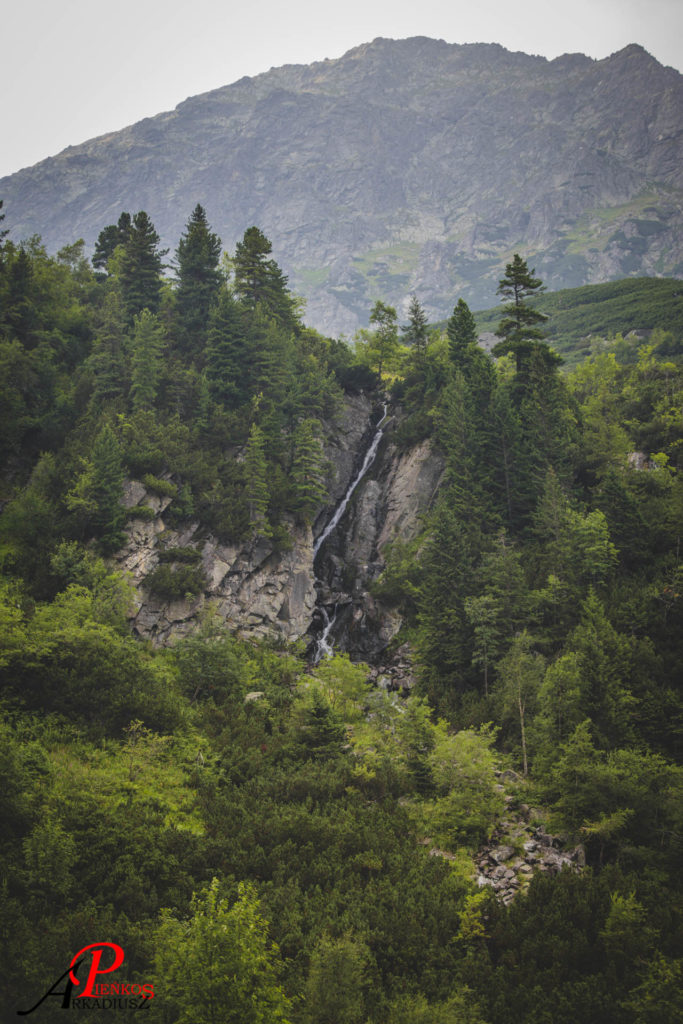 Czarnostawiańska Siklawa, Czarnostawiański Potok, Morskie Oko, Tatry, góry