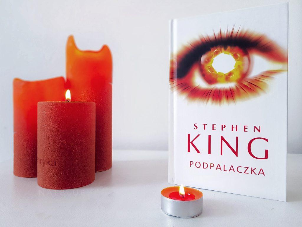Podpalaczka, Stephen King, książka, recenzja