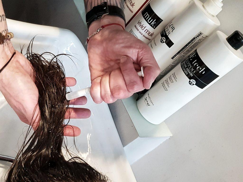 regeneracja włosów botox