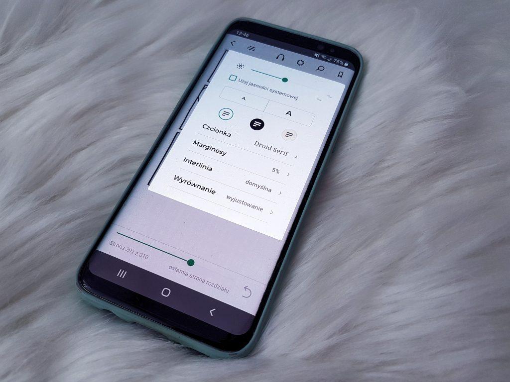 aplikacja, ustawienia