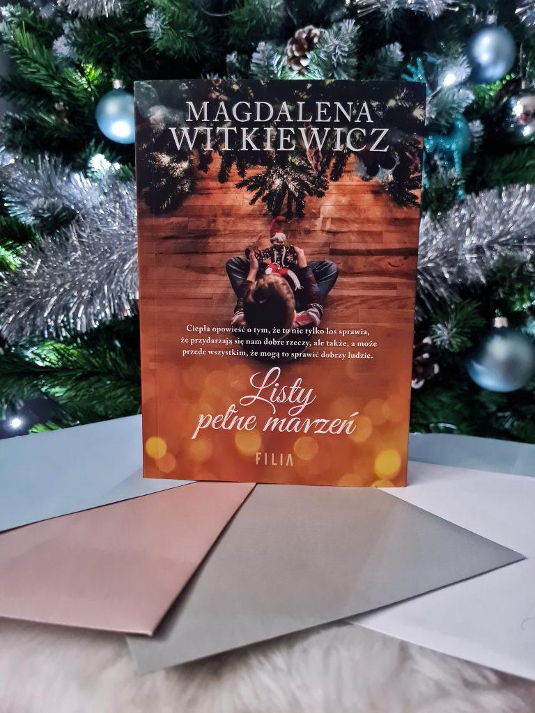Listy pełne marzeń, Magdalena Witkiewicz